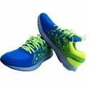 Blue, Green Sega Sports Shoes