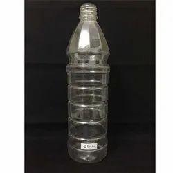Screw Cap Transparent Plastic Bottle