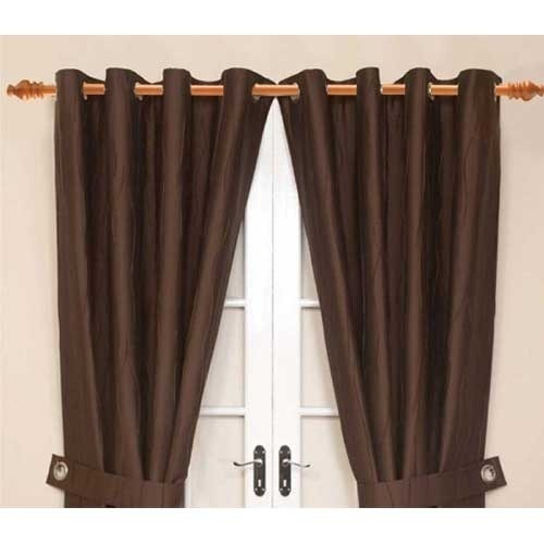 Brown Wood Finish Curtain Rod, Rs 75 /running Feet, Sai