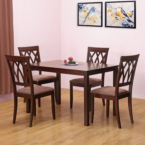new arrival 5475a d662b 4 Seater Square Dining Table Set