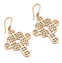 Tip Top Butterfly Naturality Pure Brass Earring