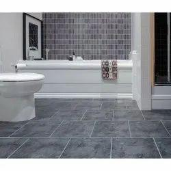 Ceramic Tiles Matt Bathroom Floor Tile, Thickness: 5-10 mm