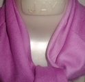 Fine Wool Cashmere Ombre Dyed Square Scarf