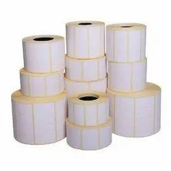 White Paper Chromo Labels, Size: Custom, Packaging Type: Roll