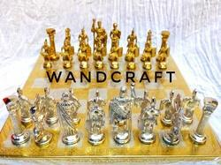 Wandcraft Exports Decorative Metal Brass Romen Chess