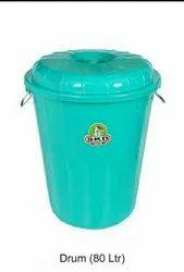 Plastic Storage Drums, Capacity: 50-100 litres