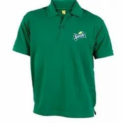 Green Mens Promotional T Shirt
