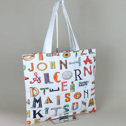 Digital Printed Cotton Bag