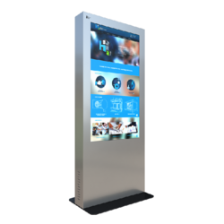 Virtual Dressing Room Media Kiosk
