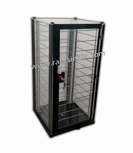 Revolving Acrylic Display Cabinet For Earrings