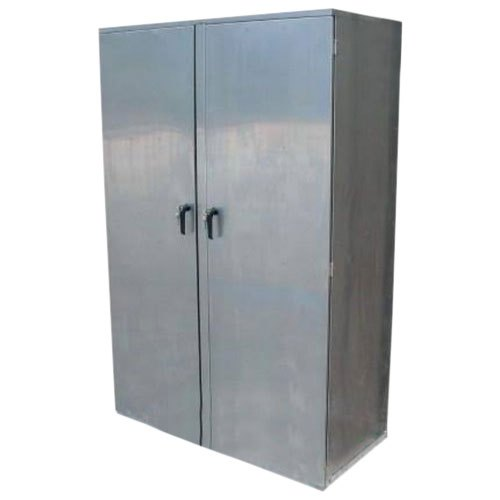 stainless steel lockable storage cabinet