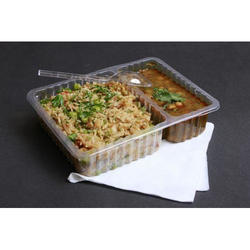 2 Compartment tray with out lid