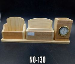 Wooden Pen Stand No 130