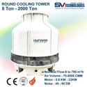 Hynaar Counter Flow Cooling Tower 10 To 500 Tonnages, For Industrial, Packaging Type: Drum