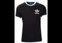 Black/white Cotton Adidas Originals California T Shirt Men