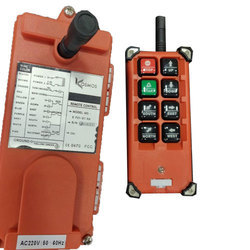 Single Phase Kosmos Crane Remote Controller, IP Rating: IP55, for Industrial Machines