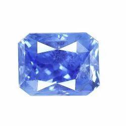 Octagon Shape Natural Ceylon Blue Sapphire