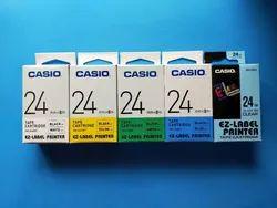 Casio XR-24YW- Label Printer Tape