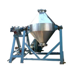 Single Phase Stainless Steel Batch Mixer, Capacity: 20 To 50 Kg/Hr