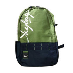 Polyester Collage Skybags Backpack