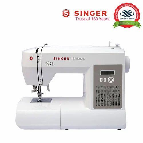 Automatic Singer FM 40 Brilliance Motorised Zig Zag Sewing Custom Singer Zigzag Sewing Machine