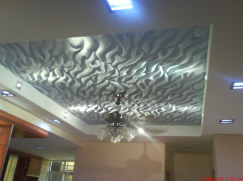 Ceiling Desings White Glass False Ceiling Design Architect Interior Design Town Planner From Hyderabad