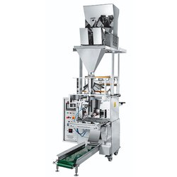 Collar Type Two Head Weigher Fully Pneumatic Pouch Packing Machine