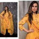 Pashmina Print Unstitched Suit
