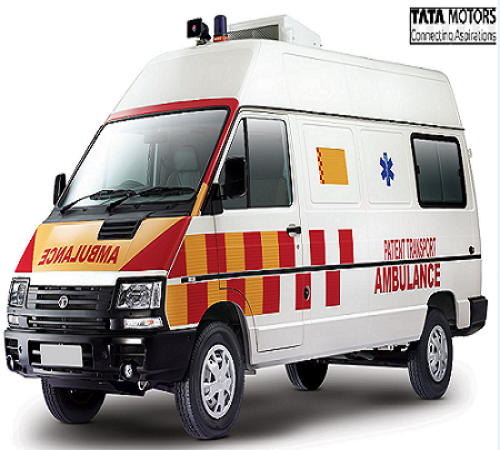 TATA Winger 3200 WB High Roof AC Ambulance - Tata Motors