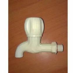 PVC Zebra Bibcock, For Bathroom Fitting, Size: 15 Mm