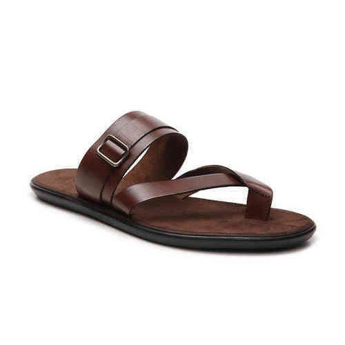 0155b83a27be0 Casual Wear Brown Mens Leather Sandal, Size: 6 And 7, Rs 450 /pair ...