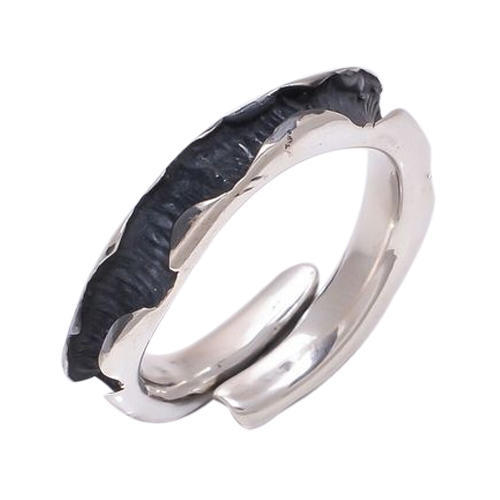 Oxidized 925 Sterling Silver Ring