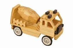 Wooden Concrete Mixer Truck Toys