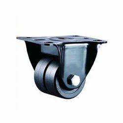 Black Light Duty Machine Caster Wheels, VI-A1-PPB-TWN-WHL