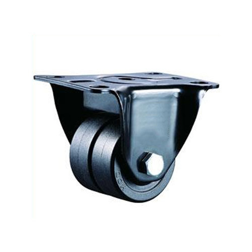 Black Light Duty Machine Caster Wheels, VI-A1-PPB-TWN-WHL