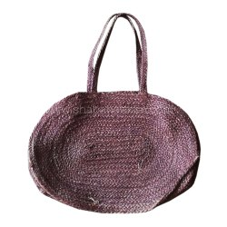 Jute Shopping Bag Handmade Brown Woven Jute Tote Bags