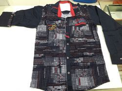 Denim Print Shirt