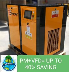 Empire 10 Hp Air Compressor, Discharge Pressure: 8bar, Model Name/Number: Eci-10pm