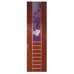 Hinged Brown PVC Printed Door