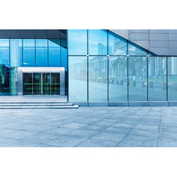 Front Elevation Toughened Glass Work