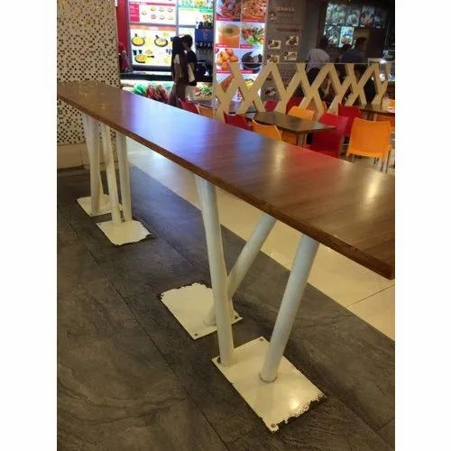 Jmd Furniture 6 10 Feet Designer Cafeteria Table Seating Capacity