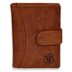 Rfid Blocking Leather Money Click Wallet