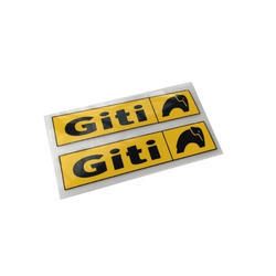Rectangular PVC Sticker