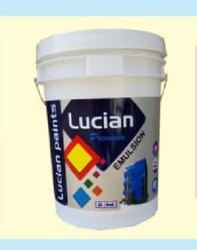 Lucian paints Matt finish Premium Interior Emulsion Paint, For Home, Packaging Size: 20l