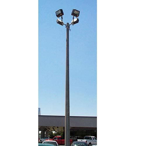 Light Pole Design: Mild Steel MS Flood Light Pole, Rs 9000 /piece, HD Square