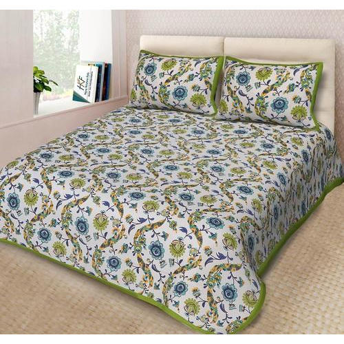 Beautiful Floral Printed Bedsheets