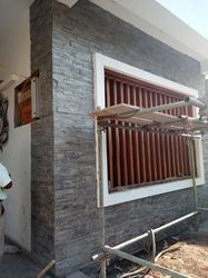 Front Elevation Stone Tile, Thickness: 12-15 mm