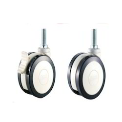 Polyurethane (PU Black) Caster Wheels