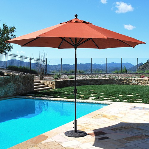 Poolside Umbrella
