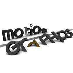 3D Motion Graphic Design Services